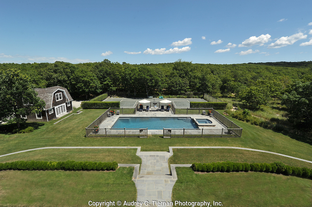 Southampton, NY: Thursday, July 14, 2011--  Images of a gorgeous home at 144 Old Sag Harbor Road.  © Audrey C. Tiernan