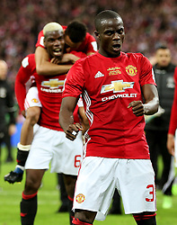 Eric Bailly of Manchester United celebrates  - Mandatory by-line: Matt McNulty/JMP - 26/02/2017 - FOOTBALL - Wembley Stadium - London, England - Manchester United v Southampton - EFL Cup Final