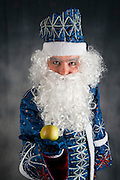 The Russian version of Father Christmas known as Ded Moroz (literally Grandfather Frost) plays the same role as Santa Claus Offers an apple