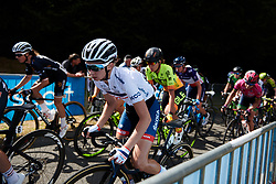 Cecilie Uttrup Ludwig (DEN) at Grand Prix de Plouay - Lorient Agglomération WNT 2018. A 125.5 km road race in Plouay, France on August 25, 2018. Photo by Sean Robinson/velofocus.com
