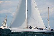 Black Watch racing at the Opera Housce Cup regatta