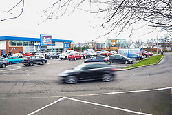 Despite the Coronavirus, people still need to shop with large outlets attracting the same level of mid-week customers.