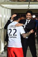 Joie PSG Champion - Ezequiel LAVEZZI / Nasser AL KHELAIFI - 16.05.2015 - Montpellier / Paris Saint Germain - 37eme journée de Ligue 1<br />Photo : Alexandre Dimou / Icon Sport