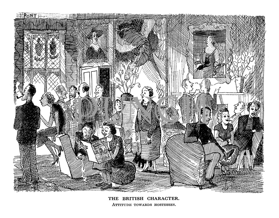 The British Character. Attitude towards hostesses.