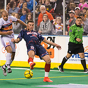 The Baltimore Blast defeat the Harrisburg Heat 5-2