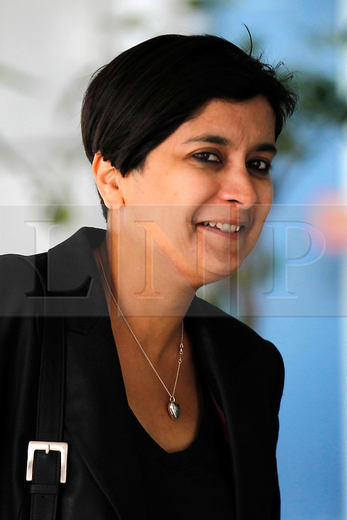 © Licensed to London News Pictures. 06/10/2011, London, UK. Director of Liberty and Leveson Inquiry panel member, Shami Chakrabarti arrives at the Queen Elizabeth II centre in London for the Leveson Inquiry seminars, Thursday, Oct. 6, 2011. The seminars explore the competitive pressures on the press and the rights and responsibilities of the press. The Leveson Inquiry to take place later in the year and will look into the culture, practices and ethics of the press after recent revelations of journalists hacking into phones. Photo credit : Sang Tan/LNP