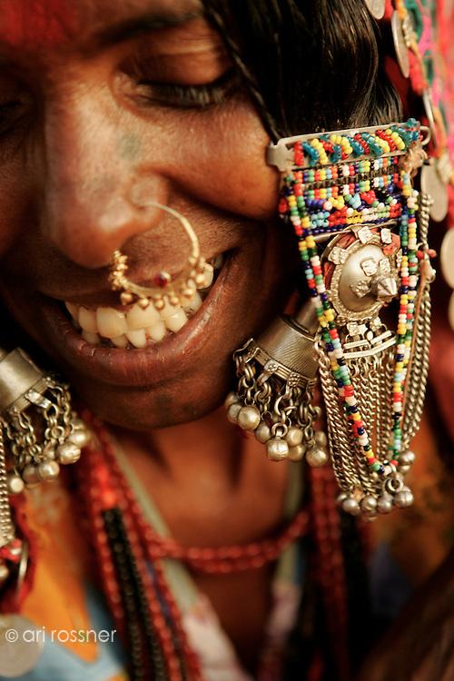 Gujarati woman with her jewels
