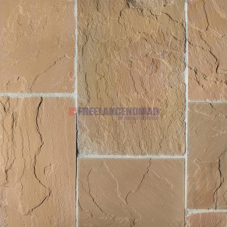 Quartzite Giallo Ocra Golden Leaf Tiles texture