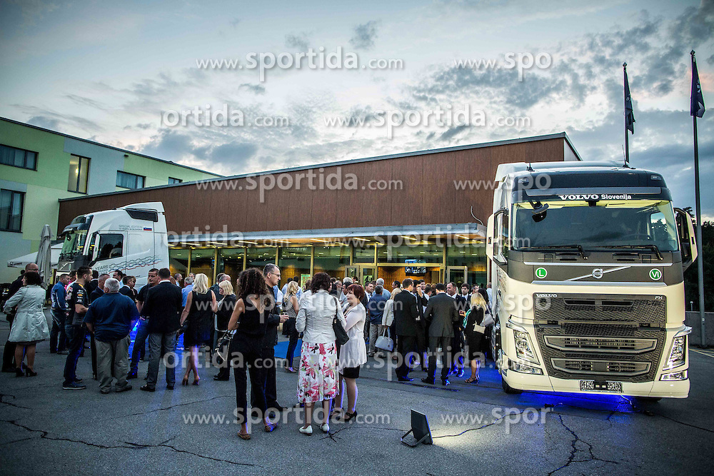 15 years Anniversary of Volvo Trucks in Slovenia, on September 18, 2015, in Hotel Mons, Ljubljana, Slovenia. Photo by Vid Ponikvar / Sportida