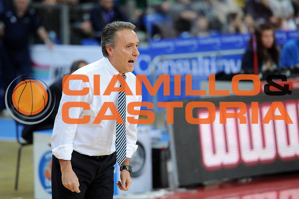 DESCRIZIONE : Pesaro Lega A 2014-15 Consultinvest Pesaro ENEL Brindisi<br /> GIOCATORE : Piero Bucchi<br /> CATEGORIA : coach ritratto<br /> SQUADRA : Consultinvest Pesaro ENEL Brindisi<br /> EVENTO : Campionato Lega A 2014-2015 <br /> GARA : Consultinvest Pesaro ENEL Brindisi<br /> DATA : 25/01/2015 <br /> SPORT : Pallacanestro <br /> AUTORE : Agenzia Ciamillo-Castoria/C.De Massis<br /> Galleria : Lega Basket A 2014-2015<br /> Fotonotizia : Pesaro Lega A 2014-15 Consultinvest Pesaro ENEL Brindisi