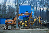 MCHS Press Box Demolition 2013