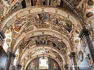 Interior artwork at the Sanctuary of Atotonilco near San Miguel de Allende, Mexico