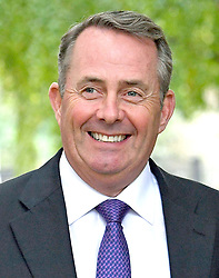 "Embargoed to 0001 Monday April 30 File photo dated 09/10/17 of Liam Fox, who is set to say people must confront the ""myths and wilful distortions"" perpetuated by the anti-free trade lobby."