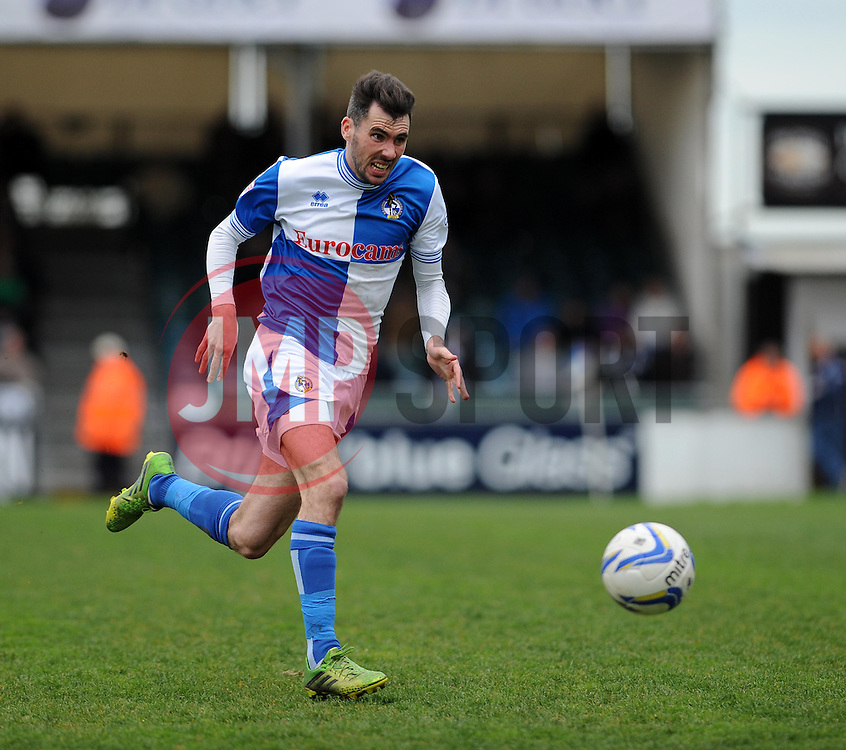 Bristol Rovers' Michael Smith  - Photo mandatory by-line: Dougie Allward/JMP - Mobile: 07966 386802 12/04/2014 - SPORT - FOOTBALL - Bristol - Memorial Stadium - Bristol Rovers v Torquay United - Sky Bet League Two
