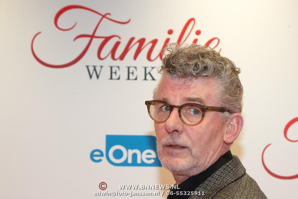NLD/Amsterdam/20160216 - Filmpremiere Familieweekend, John Buijsman