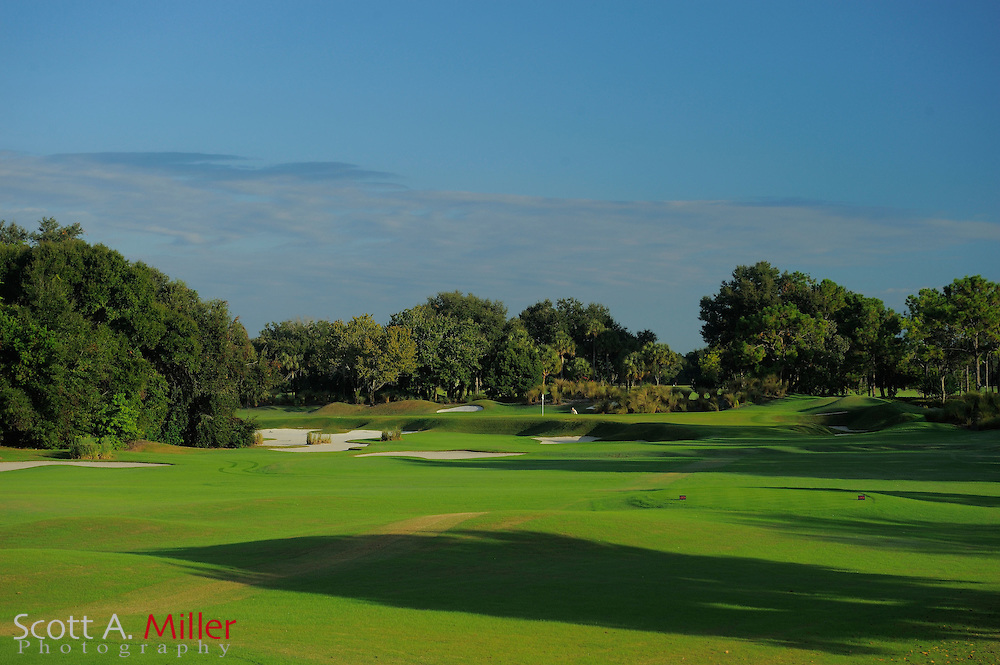 The eighth hole on the South Course at Grand Cypress on Oct. 19, 2010 in Orlando, Florida......©2010 Scott A. Miller
