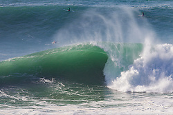 November 16, 2018 - Nazare, Portugal - Line up  during the Big Wave Surf Tour's Nazare Challenge. (Credit Image: ? Laurent Masurel/WSL via ZUMA Wire/ZUMAPRESS.com)