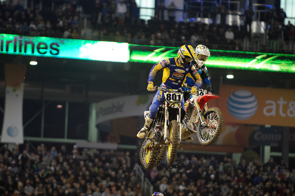 2012 Monster Energy AMA Supercross Series.Cowboy Stadium.Dallas, Texas.February 18, 2012