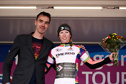 Lorena Wiebes (NED) wins the youth classification jersey at Healthy Ageing Tour 2019 - Stage 5, a 124.3 km road race in Midwolda, Netherlands on April 14, 2019. Photo by Sean Robinson/velofocus.com