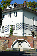 Künstlerkolonie, Haus Olbrich, Mathildenhöhe, Jugendstil, Darmstadt, Hessen, Deutschland | Centre of Art Noveau on Mathildenhoehe, Darmstadt, Germany