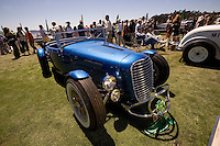 PEBBLE BEACH, CA - AUGUST 19: A 1932 Ford Paul FitzGerald Roadster at the 2007 Pebble Beach Concours d'Elegance on August 19, 2007 in Pebble Beach, California.  (Photo by David Paul Morris)