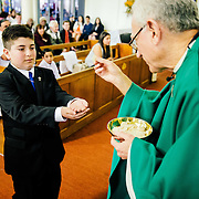 Communion at OLMC | 2014.09.22