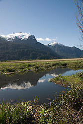 Chile, Lake Country: Beautiful scenery of the Lake Country at Peulla in the Andes..Photo #: ch640-33327.Photo copyright Lee Foster www.fostertravel.com, lee@fostertravel.com, 510-549-2202.