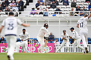 Jonny Bairstow of Yorkshire takes a catch to dismiss Sam Curran during the Specsavers County C'ship Div One match at the Kia Oval, London<br /> Picture by Simon Dael/Focus Images Ltd 07866 555979<br /> 11/05/2018