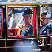 NLD/Den Haag/20180918 - Prinsjesdag 2018, Constantijn en Laurentien