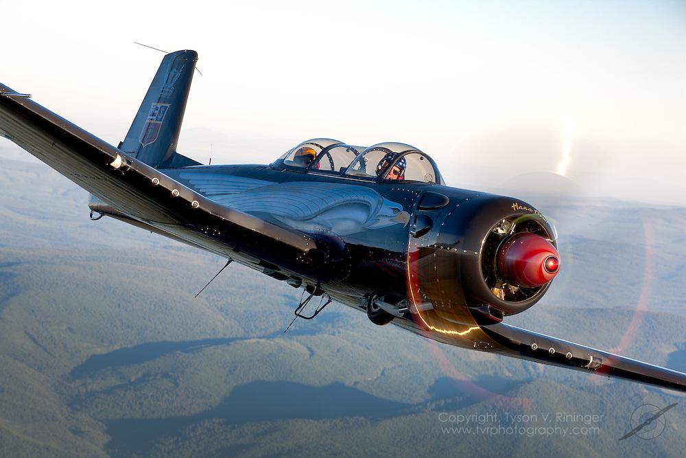 Hal 'Batman' Morley's highly modified CJ-6 Nanchang.