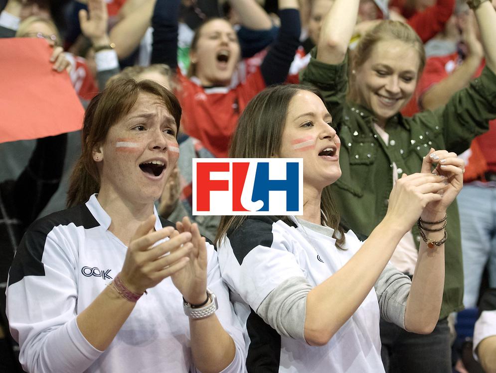 BERLIN - Indoor Hockey World Cup<br /> Final: Germany - Austria<br /> foto: Fans<br /> WORLDSPORTPICS COPYRIGHT FRANK UIJLENBROEK