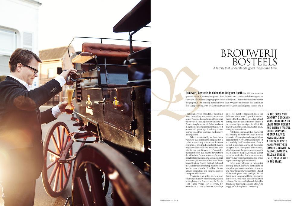 Draft Magazine - Brouwerij Bosteels