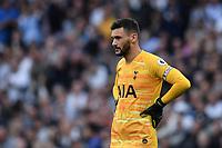 Football - 2019 / 2020 Premier League - Tottenham Hotspur vs. Aston Villa<br /> <br /> Tottenham Hotspur's Hugo Lloris frustrated as they struggle to break down Aston Villa, at The Tottenham Hotspur Stadium.<br /> <br /> COLORSPORT/ASHLEY WESTERN