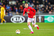 Manchester United midfielder Andreas Pereira (15) during the Europa League match between Club Brugge and Manchester United at Jan Breydel Stadion, Brugge, Belguim on 20 February 2020.