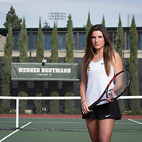 USC Women's Tennis Photo day 2017