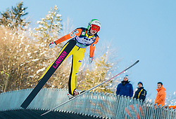 JAVORSEK Anja of Slovenia competes during 11th Women FIS Ski Jumping World Cup competition in Planica replacing Ljubno  on January 25, 2014 at HS95, Planica, Slovenia. Photo by Vid Ponikvar / Sportida