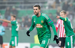 08.12.2016, Weststadion, Wien, AUT, UEFA EL, SK Rapid Wien vs Athletic Club Bilbao, Gruppe F, im Bild Tomi Correa (SK Rapid Wien) // during a UEFA Europa League, group F game between SK Rapid Wien and Athletic Club Bilbao at the Weststadion, Vienna, Austria on 2016/12/08. EXPA Pictures © 2016, PhotoCredit: EXPA/ Sebastian Pucher