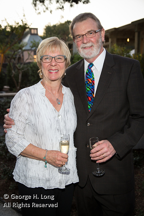 Nancy Hopper and Jim McCutcheon at Magic in the Moonlight 2015 benefit for the New Orleans Botanical Garden in City Park
