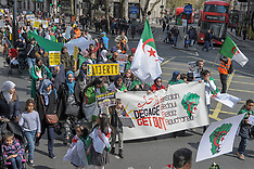 8th Algerian Protest London, London, 14 April 2019