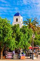 Catholic Church of the Immaculate Conception, Old Town, San Diego, California USA.