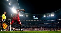 11.09.2010, Allianz Arena, München, GER, 1. FBL, FC Bayern München vs Werder Bremen, im Bild Holger Badstuber, (FC Bayern München, #28), beim Eckball, EXPA Pictures © 2010, PhotoCredit: EXPA/ J. Feichter