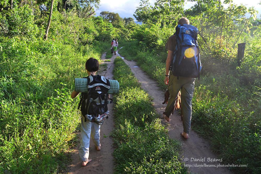 Backpacking in Amboro National Park, Bolivia