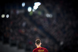 February 3, 2019 - Rome, Rome, Italy - Edin Dzeko of AS Roma during the Serie A match between Roma and AC Milan at Stadio Olimpico, Rome, Italy on 3 February 2019. (Credit Image: © Giuseppe Maffia/NurPhoto via ZUMA Press)