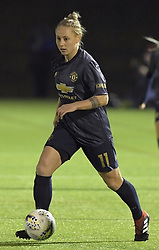 February 20, 2019 - Sheffield, United Kingdom - Leah Galton (Manchester United) in possession during the  FA Women's Championship football match between Sheffield United Women and Manchester United Women at the Olympic Legacy Stadium, on February 20th Sheffield, England. (Credit Image: © Action Foto Sport/NurPhoto via ZUMA Press)