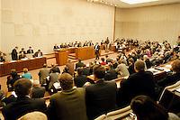 06 FEB 1998, BONN/GERMANY:<br /> Bundesrat, Plenarsaal, Übersicht<br /> IMAGE: 19980206-01/01-33