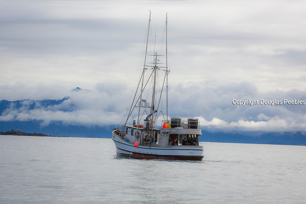 Salmon fishing boat, Sitka, Alaska