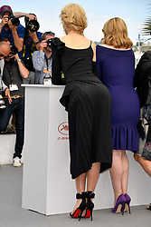 Nicole Kidman, Elisabeth Moss attending the photocall for the film 'Top of the Lake - China Girl' as part of the 70th Cannes Film Festival, at the Palais des Festivals in Cannes, southern France on May 23, 2017. Photo by Julien Zannoni/APS-Medias/ABACAPRESS.COM    593929_018 Cannes France