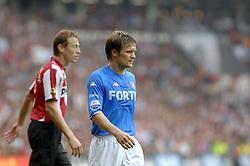 17-09-2006 VOETBAL: PSV - FEYENOORD: EINDHOVEN <br /> PSV verslaat in eigen huis Feyenoord met 2-1 / Joonas Kolkka<br /> &copy;2006-WWW.FOTOHOOGENDOORN.NL