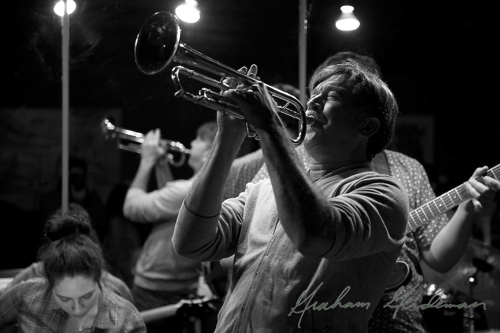 Trumpet and smooth jazz master Rick Braun performing live at Nine48Jazz in Nashville, TN with the Marcus Finnie Band.