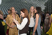 OLYMPIA CAMPBELL; NATALIE HAND; JEAN CAMPBELL; SOFIA CRONIN, 2016 SERPENTINE SUMMER FUNDRAISER PARTY CO-HOSTED BY TOMMY HILFIGER. Serpentine Pavilion, Designed by Bjarke Ingels (BIG), Kensington Gardens. London. 6 July 2016